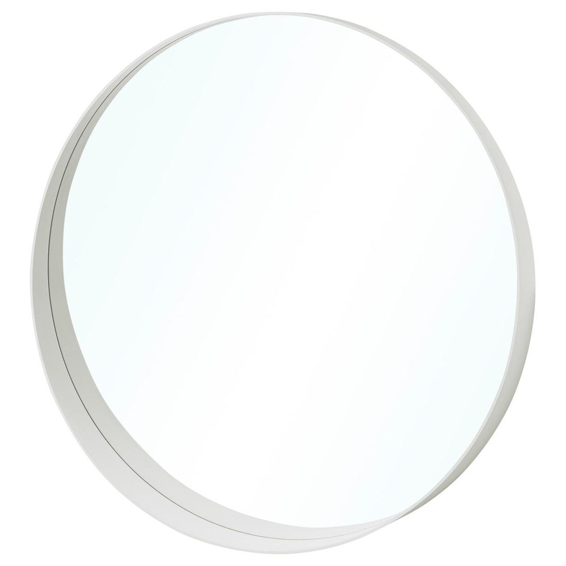 Зеркало, белый, 80 см РОТСУНД [104.467.84] 104.467.84