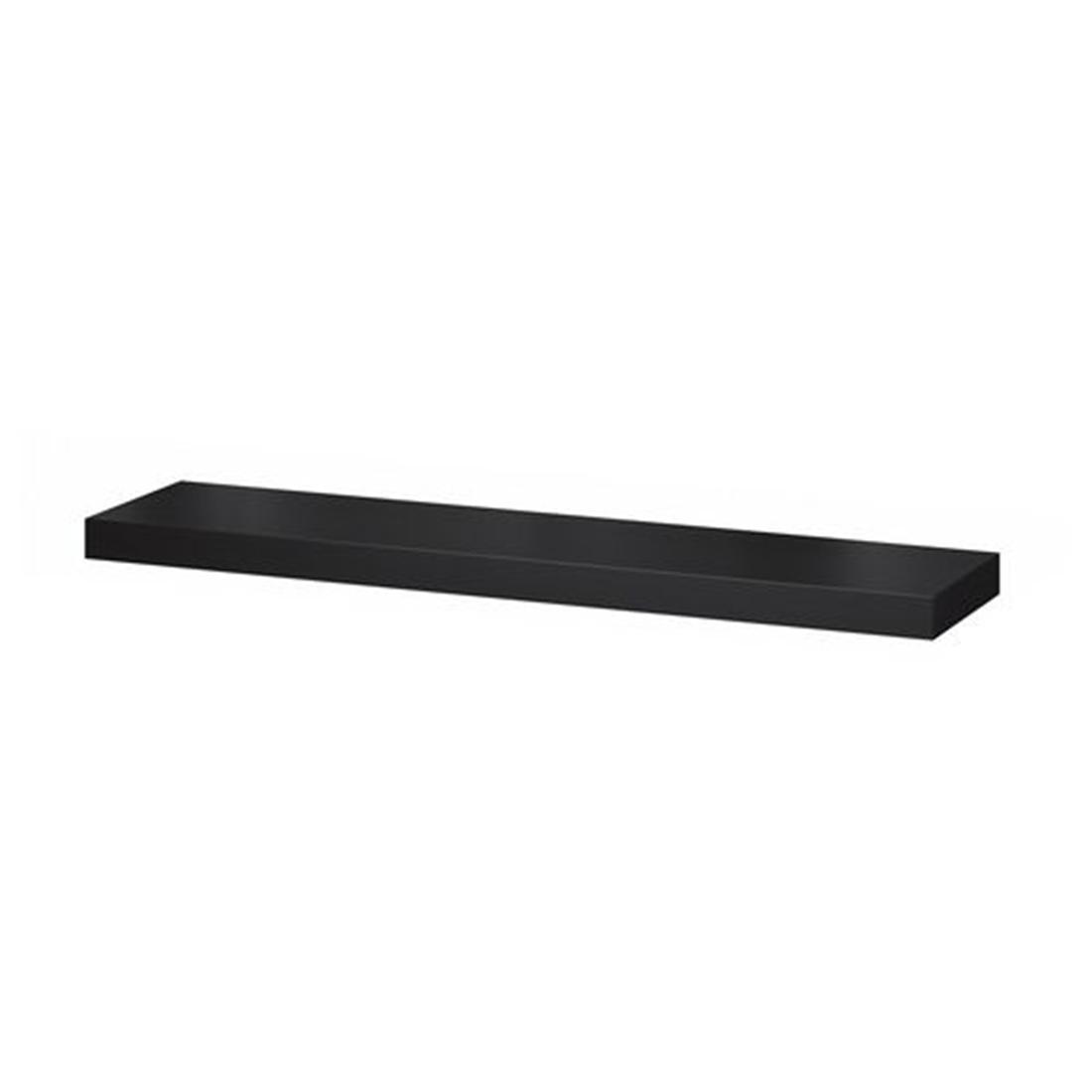 Полка навесная, черно-коричневый, 110x26 см ЛАКК [903.794.98] 903.794.98