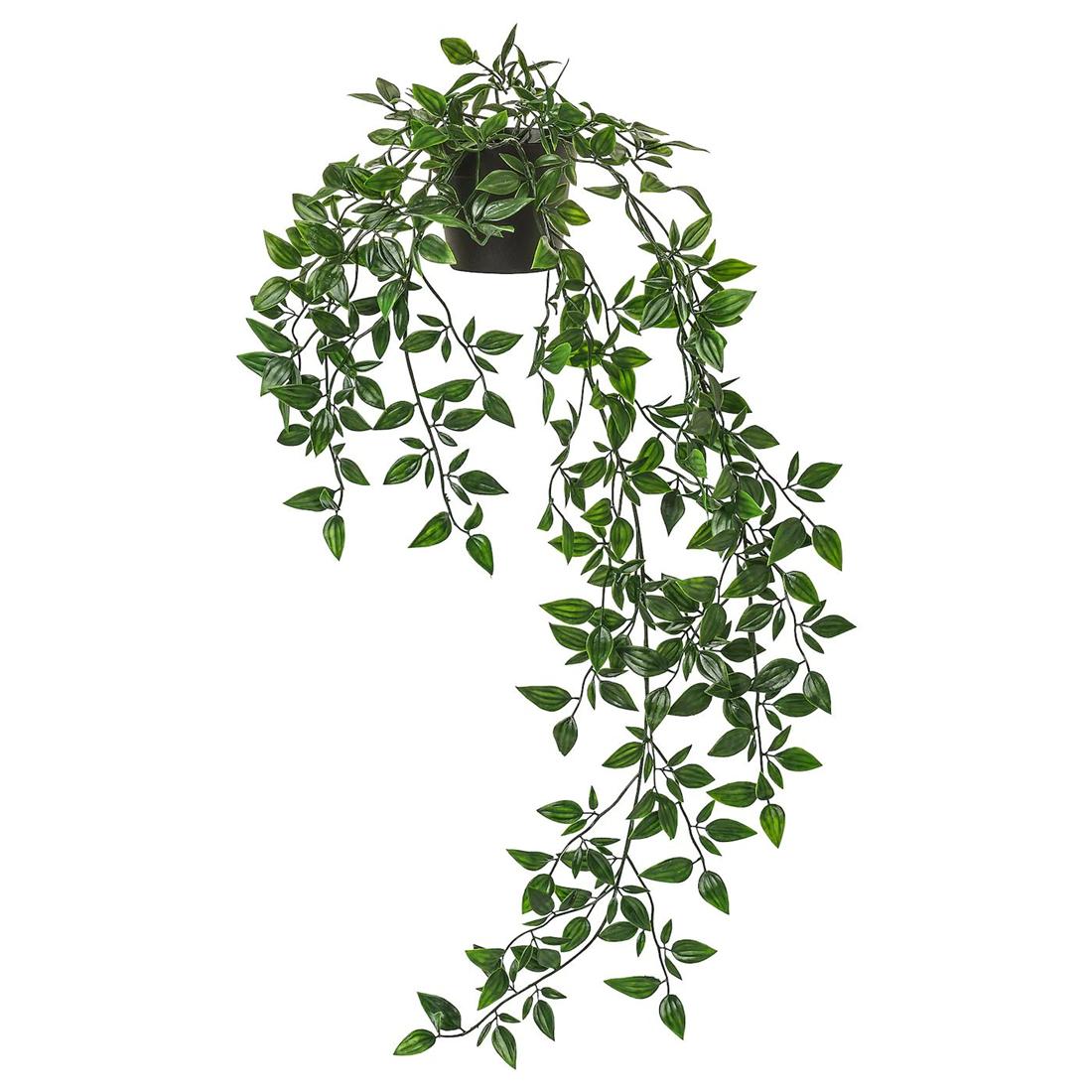 Искусственное растение в горшке, д/дома/улицы, подвесной, 9 см ФЕЙКА [803.495.48] 803.495.48