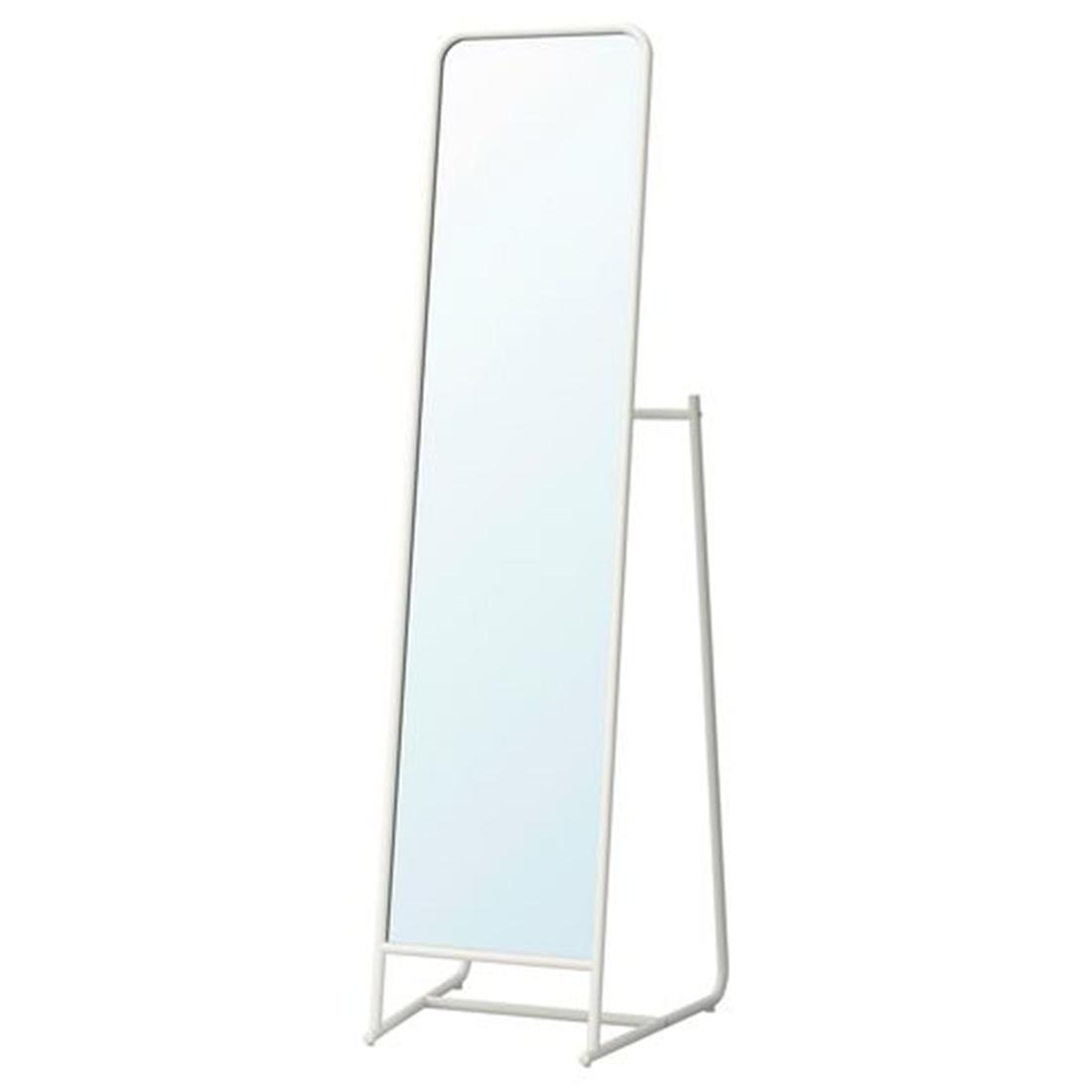 Зеркало напольное, белый, 48x160 см КНАППЕР [203.962.41] 203.962.41