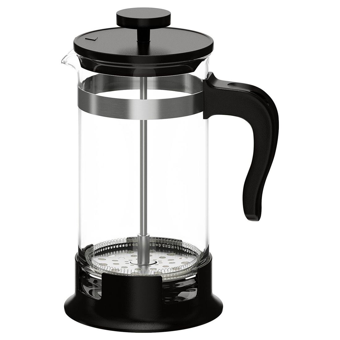 Кофе-пресс/заварочный чайник, стекло, нержавеющ сталь, 1 л УПХЕТТА [903.721.85] 903.721.85